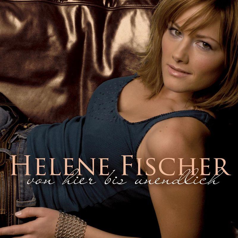"""Sexy, sinnlich, irgendwie ganz nett: So ging 2006 der Stern einer gewissen Helene Fischer auf. Ihr Debüt """"Von hier bis unendlich"""" erreichte immerhin Platz 19 in den Charts - und von da an ging es steil nach oben."""