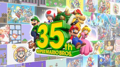 Super Mario wird 35