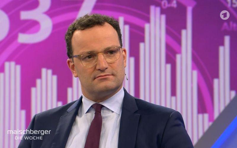 """Gesundheitsminister Jens Spahn erklärte in der jüngsten Ausgabe der ARD-Talkshow """"maischberger. die woche"""", warum die Zahl der Corona-Infizierten noch immer nicht sinkt."""